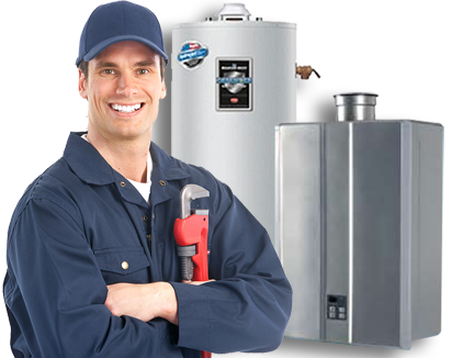 Glendora, CA Plumber Servicing Water Heater
